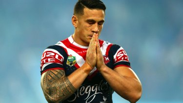 Not again: Semi Radradra can't be let back into the NRL like Sonny Bill Williams was.