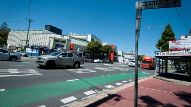 There has been a 12-month trial of dedicated bike lanes on Annerley Road.