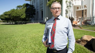 """History will judge how Australia treats Aboriginal people"": John Lawrence, SC, Darwin barrister."