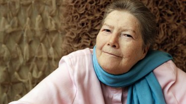 Author Colleen McCullough.