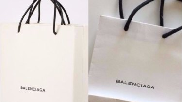 01410ff5e1 Balenciaga s  1457  shopping bag  sends social media into a tizzy