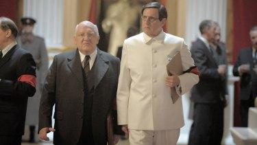 Simon Russell Beale as Beria and Jeffrey Tambor as Malenkov.