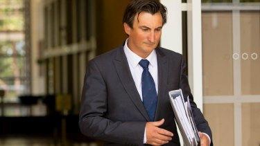 Voller's lawyer, Peter O'Brien.