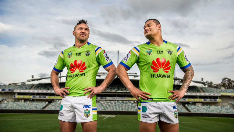 Jordan Rapana and Joey Leilua room together wherever they play, shopped for engagement rings together and spend their days off on the golf course together.