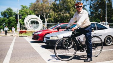 Pedal Power ACT's John Armstrong wants $120 million in cycling infrastructure investment over the next four years.