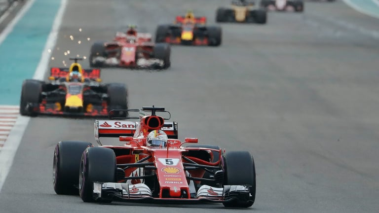 Red hot: Ferrari has threatened it could move to a new competition after 2020.