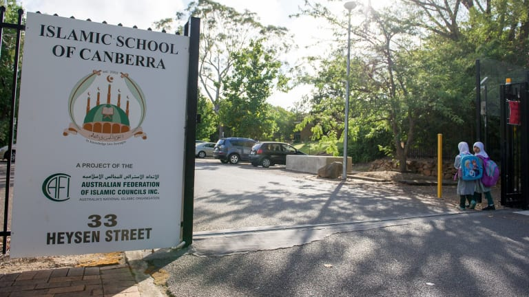 Students continued to file into the school on Monday despite news of its likely closure.