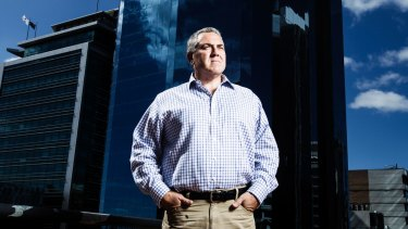 No going back: 'As my mum has always said to me, the sky is always darkest before the dawn,' says Joe Hockey.