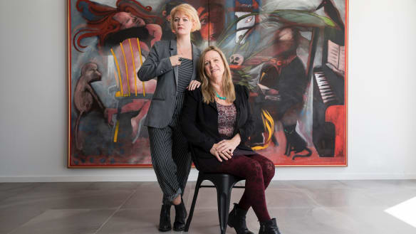 'Charlie's Guernica' takes pride of place