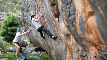 Learn about the sport of bouldering at the Black Diamond Grampians Bouldering Festival.