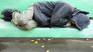 Many people sleeping on the streets were abused as children.