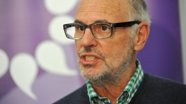 """I'm not switching off"": Exit International's Philip Nitschke."