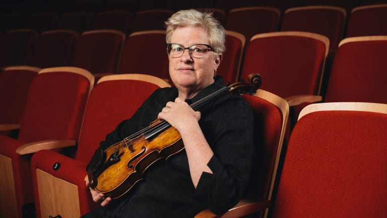 Canberra Youth Orchestra 50 year anniversary: Barbara Jane Gilby.