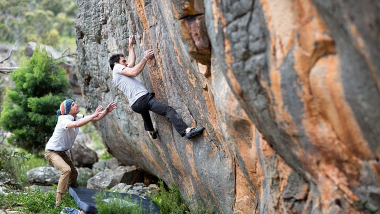 Learn about the sport of bouldering at theBlack Diamond Grampians Bouldering Festival.