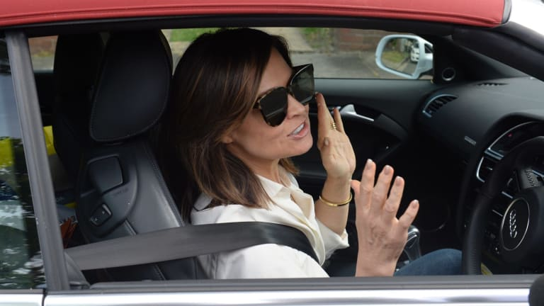 Lisa Wilkinson, pictured on Tuesday, was demanding parity with her co-star Karl Stefanovic.