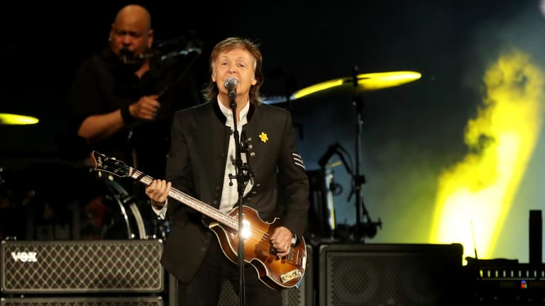 Paul McCartney has brought his One on One tour to Australia for his first live shows since 1993.