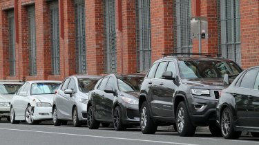 On-street car parking in suburbs such as Teneriffe is in short supply.