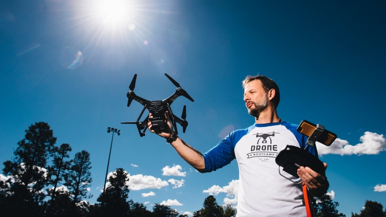 Mark Will said more information should be provided to drone users in order to prevent crashes or near misses with aircraft.