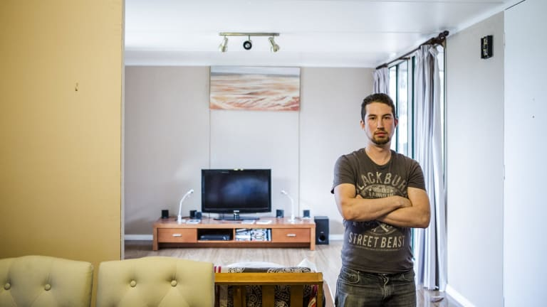 Daniel Gray had intentions to sell his asbestos house, and had carried out renovations prior.