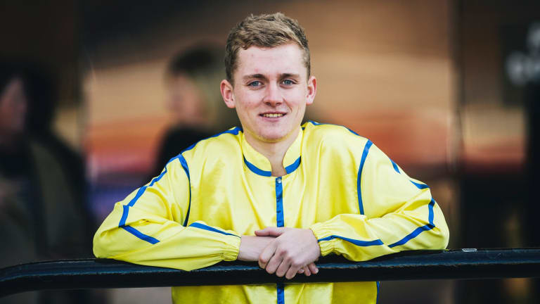 Canberra jockey Brodie Loy who is heading to New Caledonia to ride for a month.