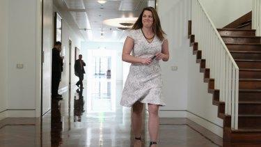Greens Senator Sarah Hanson-Young.