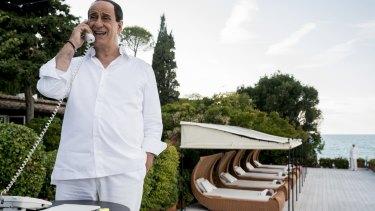 Toni Servillo plays Silvio Berlusconi in Loro.