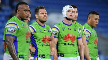 The Canberra Raiders lost a thriller to Gold Coast.