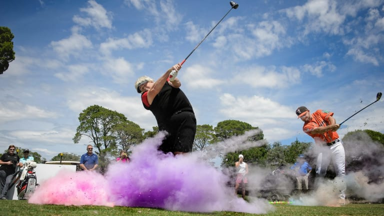 Dame Laura Davies and Canberra Cavalry's Casey McElroy tee off on a huge weekend of Canberra sport.