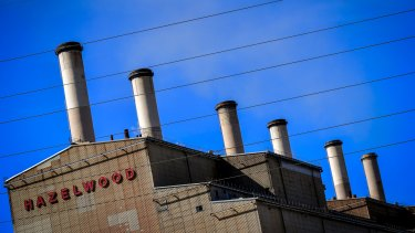 The Hazelwood coal plant will shut in March.