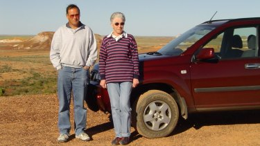 David Brown and his wife Frances are touring Australia.