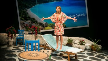 That's living: Sharon Millerchip as Shirley Valentine.