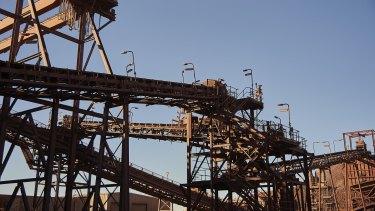 BHP's Olympic Dam produces copper and uranium.