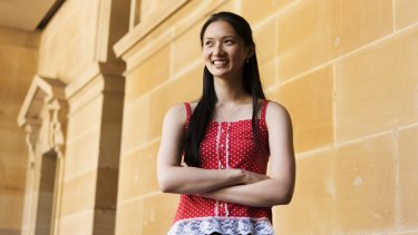 Victoria Xu, who has received a double scholarship for UNSW, picked electrical engineering over medicine.