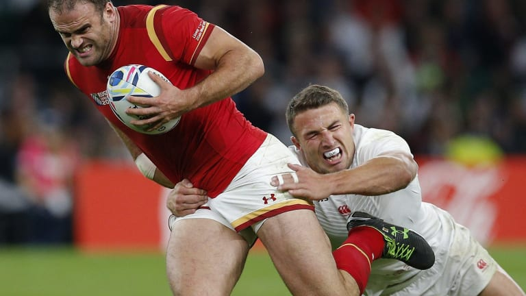 Losing grasp: Rob Andrew labels the selection of Burgess as the tipping point in England's disappointing home World Cup campaign.