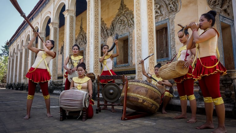 Cambodian Living Arts is restoring Cambodia's arts culture.