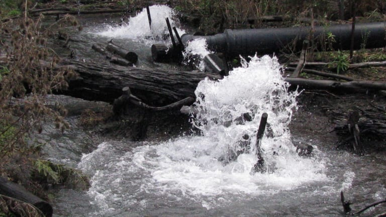 Conservation groups say the Springvale mine will weaken the protection of Sydney's drinking water.
