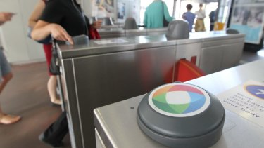Gated: train station managers fear Opal card problems will cause disruptions.
