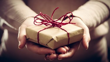 Psychological research reveals giving makes people feel better.
