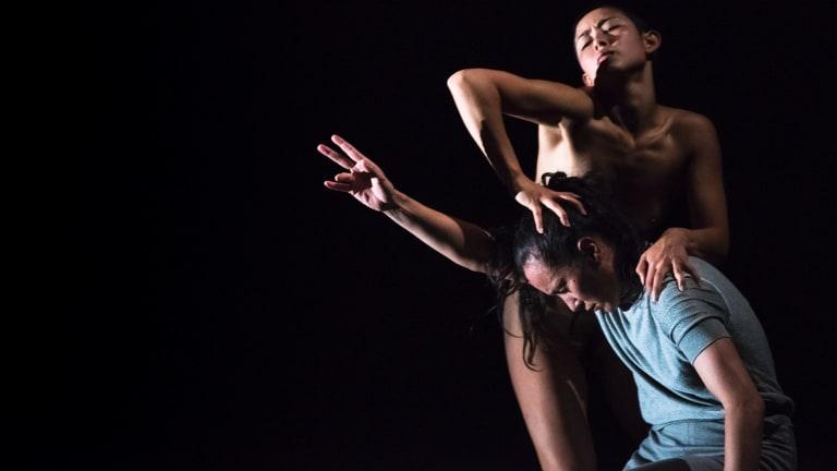 Mesmerising: Lilian Steiner and Melanie Lane in Split.