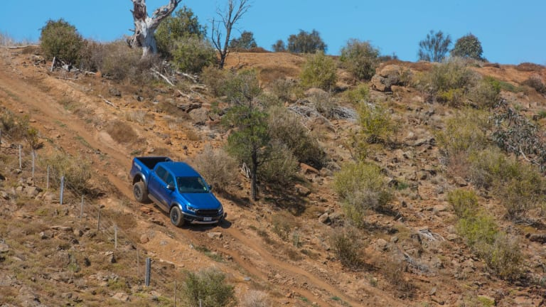 Melbourne 4 x 4 Proving Ground. This is a purpose-built 4WD course hewn into the side of the Werribee Gorge.