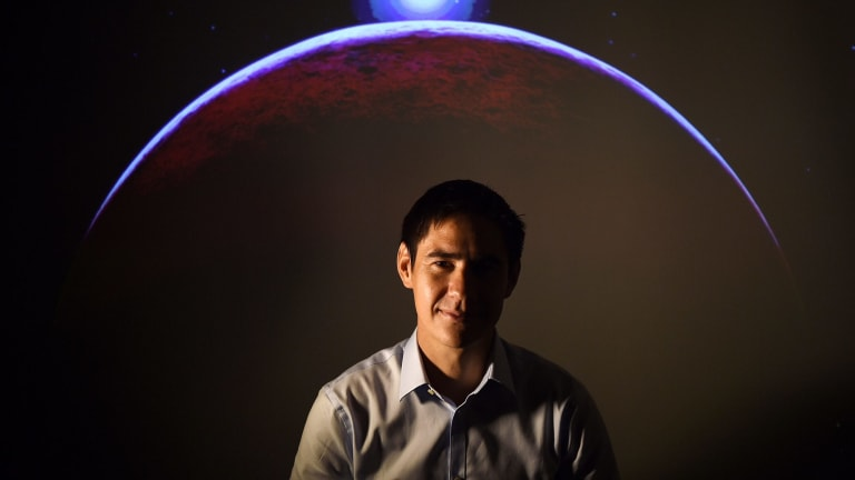 Professor Sinclair is hoping to nurture young scientist Lindsay Wu, with the pair working to raise a billion dollars to fund anti-ageing research.