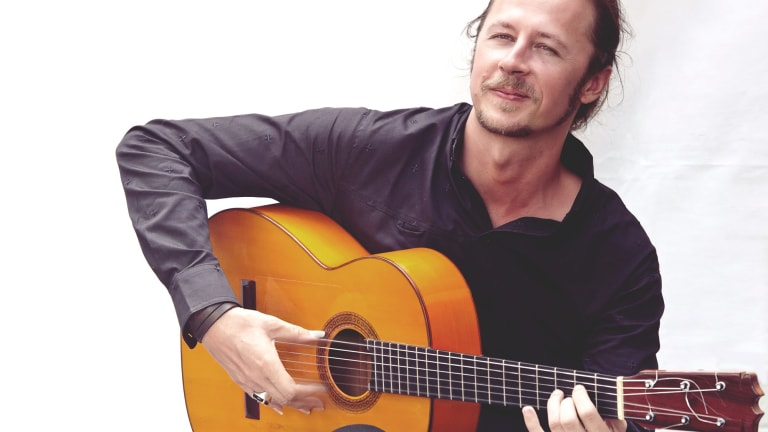 Flamenco guitarist Damian Wright.