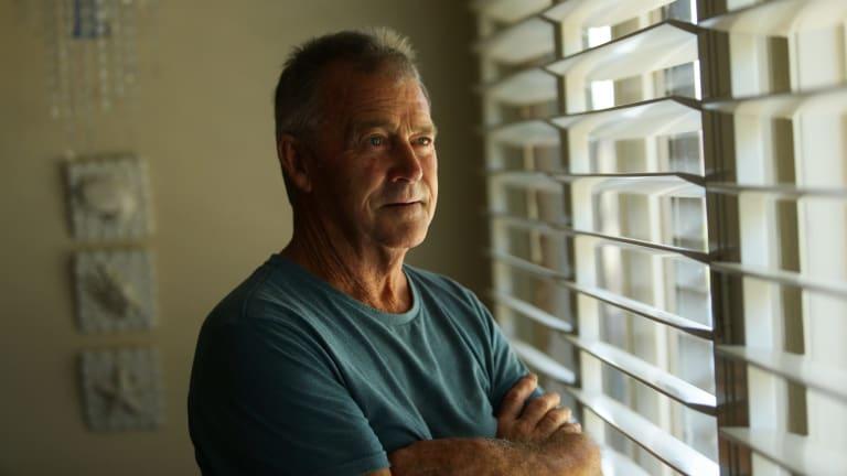 John Hill had lymphoma 15 years ago.