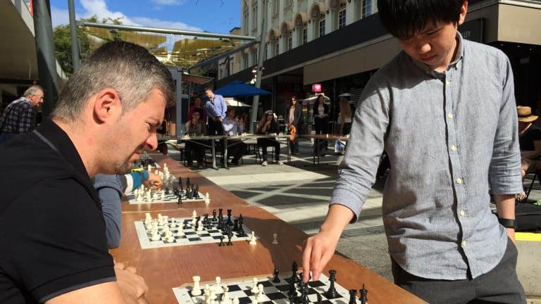 Brisbane Ultimate Chess Battle saw one of Australia's top chess players Moulthun Ly take on 21 opponents.