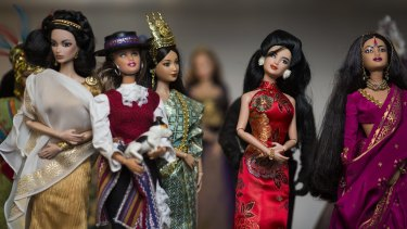 Dolls of the world feature in the collection