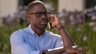 Sterling K. Brown as Randall in <i>This Is Us</i>.