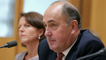 Mr Fraser spoke publicly as Treasury secretary for the first time during Wednesday's Senate estimates.