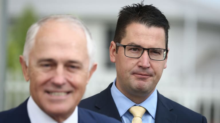 """Multicultural Affairs Minister Zed Seselja, right, said parts of the report's criticism were """"bizarre""""."""