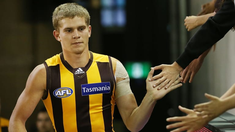 Jed Anderson: Leaving the Hawks.