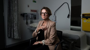 Edith Maling underwent reconstructive surgery with the fluorescent imaging technology.